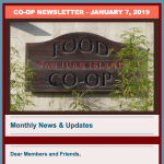 Monthly News & Updates — January 7, 2019