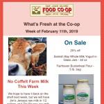 Fresh Sheet — February 11th, 2019