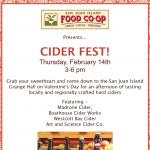 Cider Fest! — February 14th, 2019