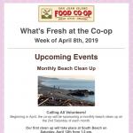 Fresh Sheet — April 8th, 2019