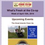 Fresh Sheet — April 15th, 2019