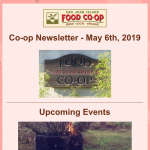 Newsletter — May 6th, 2019