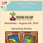 Newsletter — August 5th, 2019