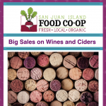Big Sales on Wines and Ciders - November 19th, 2019