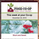 Fresh Sheet — December 22nd, 2019