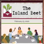 The Island Beet — February 23rd, 2020